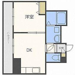 コート77[3階]の間取り
