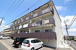 岡山県岡山市中区平井の賃貸マンションの外観
