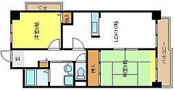 セルフィーユコート[4階]の間取り