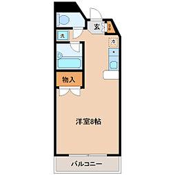 幸町アヴェニュー[4階]の間取り