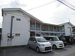 栃木県宇都宮市中久保2丁目の賃貸アパートの外観