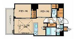 都営三田線 春日駅 徒歩1分の賃貸マンション 16階2LDKの間取り