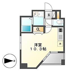 GRANDUKE東別院crea(クレア)[12階]の間取り