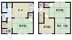 中八木駅 4.5万円
