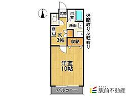 サライ七番館[1階]の間取り