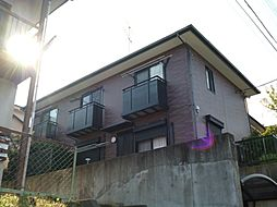 東京都日野市程久保8丁目の賃貸アパートの外観