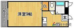 ピュアハウス[201号室]の間取り