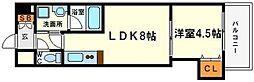 KDXレジデンス新大阪[4階]の間取り