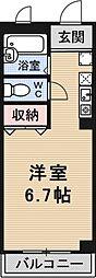 グランドヒル瀬田[7D号室号室]の間取り