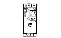 SUCCESS52[4階]の間取り