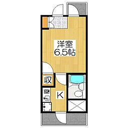 DETOM−1北山レディース311[311号室]の間取り