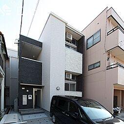 愛知県名古屋市中村区靖国町2丁目の賃貸アパートの外観