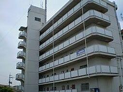 岡山県岡山市中区兼基の賃貸マンションの外観