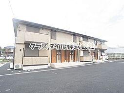 神奈川県座間市栗原中央2丁目の賃貸アパートの外観