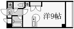パラシオ北夙川[2階]の間取り