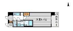 アドバンス新大阪III[4階]の間取り