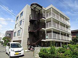 北海道札幌市東区北三十九条東10丁目の賃貸マンションの外観
