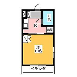 レジデンス楓[2階]の間取り