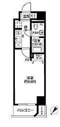 プレール・ドゥーク東京EASTII[6階]の間取り