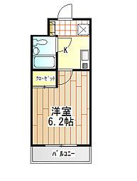 神奈川県伊勢原市桜台2丁目の賃貸マンションの間取り