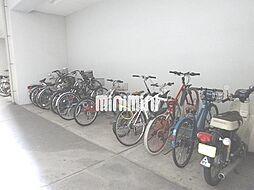 フォレシティ栄の駐輪場があります