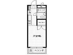 ドゥエル中和田[2階]の間取り