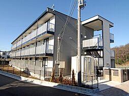 千葉県船橋市松が丘2丁目の賃貸アパートの外観