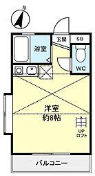 タナカハイム[2階]の間取り