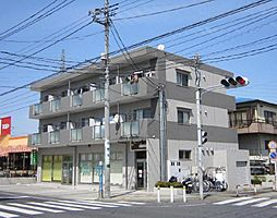 埼玉県川口市赤井4丁目の賃貸マンションの外観