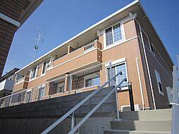 埼玉県川口市鳩ケ谷本町4丁目の賃貸アパートの外観