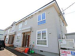 北海道岩見沢市大和一条3丁目の賃貸アパートの外観