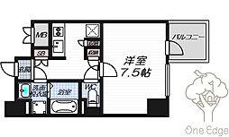 リーガレジデンス豊崎[8階]の間取り