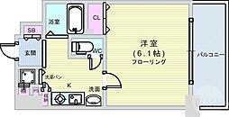 JR難波駅 5.7万円
