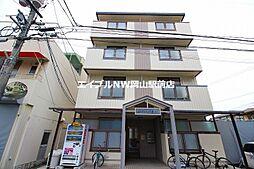 岡山県岡山市北区広瀬町の賃貸マンションの外観