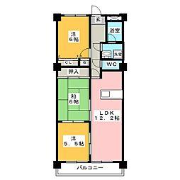 パストラル印場[2階]の間取り