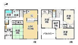 三郷駅 2,180万円
