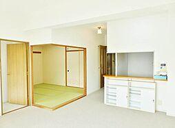4LDKの居間