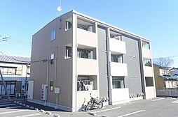 群馬県伊勢崎市上泉町の賃貸アパートの外観