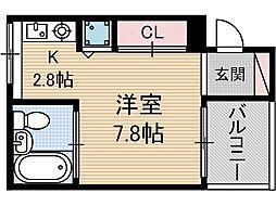 主原E-SITE[1階]の間取り