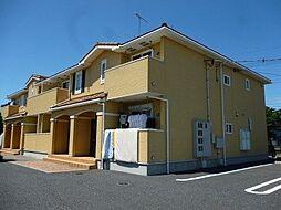 茨城県筑西市菅谷の賃貸アパートの外観