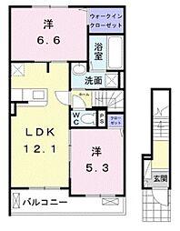 滝尾駅 7.4万円