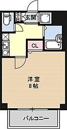 プレサンス京都東山City Life[304号室号室]の間取り