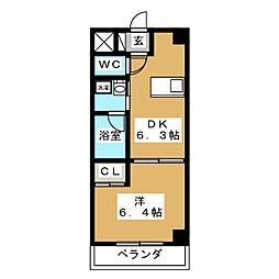 アンシャンテ[8階]の間取り
