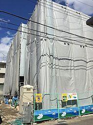 京都府京都市山科区四ノ宮鎌手町の賃貸アパートの外観