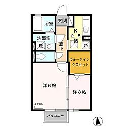 CO-MIKAプロバンス館[1階]の間取り