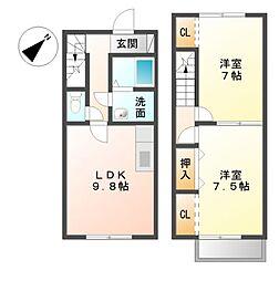 DOLPHIN HOUSE[1階]の間取り