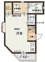 カプリ[2階]の間取り
