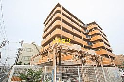 岡山県岡山市北区中島田町2丁目の賃貸マンションの外観