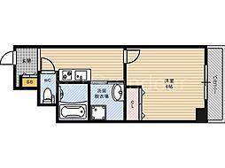 みおつくし都島[8階]の間取り