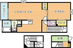 エバーステージIII[3階]の間取り